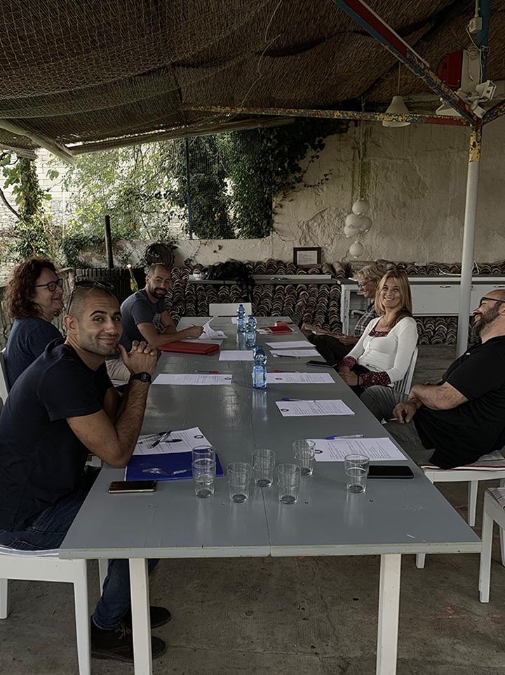 Gruppo lavoro Bauhaus in Israele